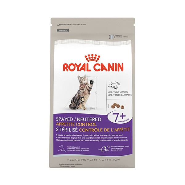 Royal Canin Spayed Neutered Appetite Control +7