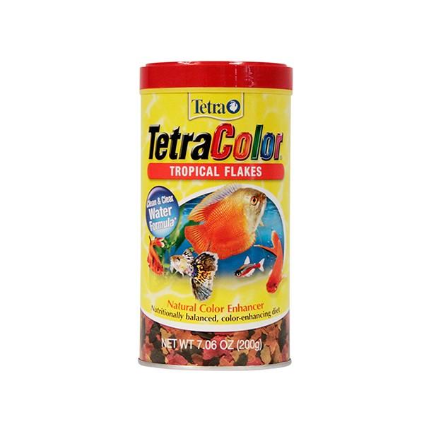 Alimento TetraColor Tropical Flakes