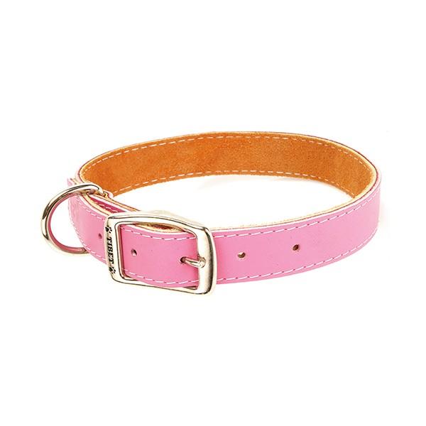 Collar Piel Fantasia Color Rosa