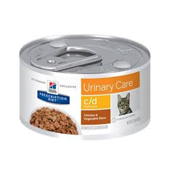 Prescription Diet c/d Felino Multicare Pollo con Vegetales