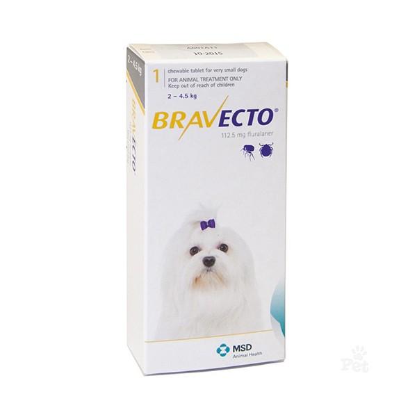 Bravecto Antipulgas 2 a 4.5 kg