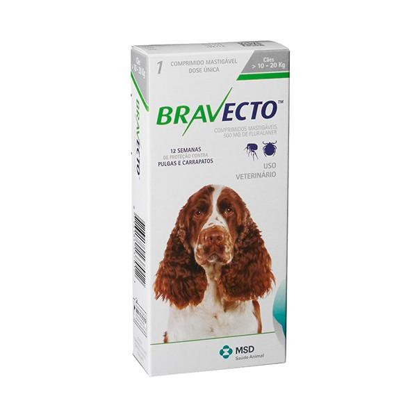 Bravecto Antipulgas 10 a 20 Kg