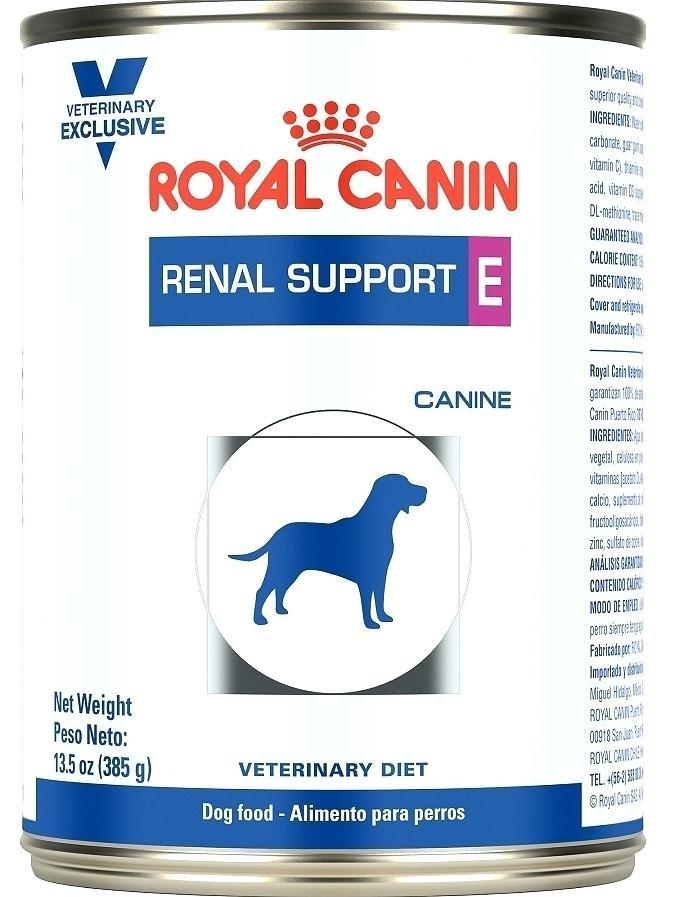 Renal Suppor E Canine Lata
