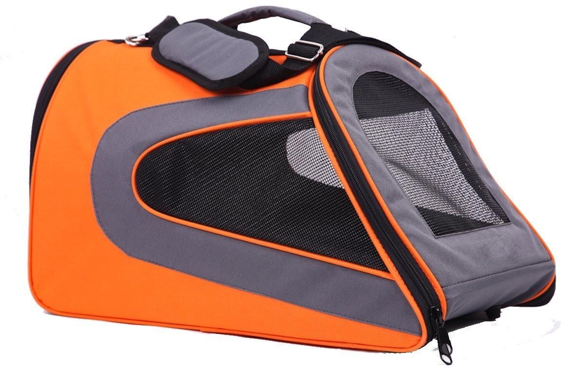 Transportadora Tela Fashion Naranja