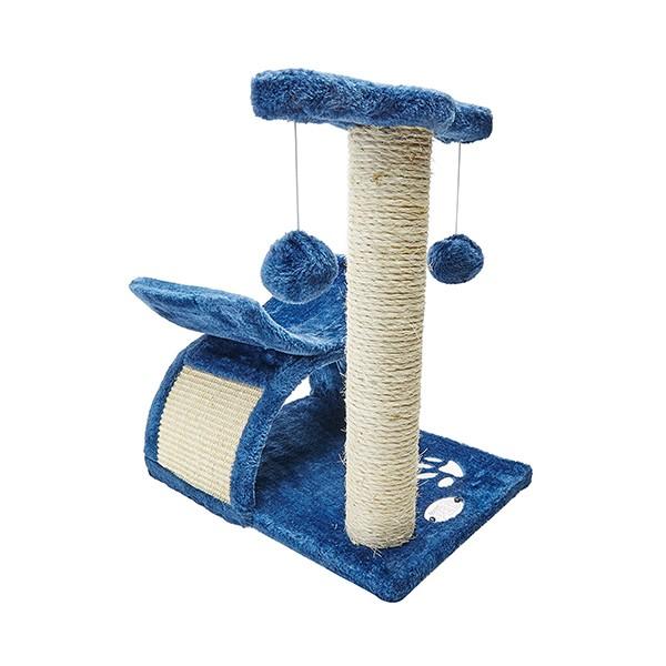 Mueble Azul con Rascador